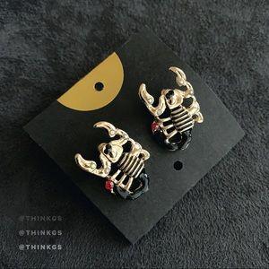 🖤 Scorpio Earrings